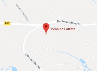 plan google maps Domaine Laffitte